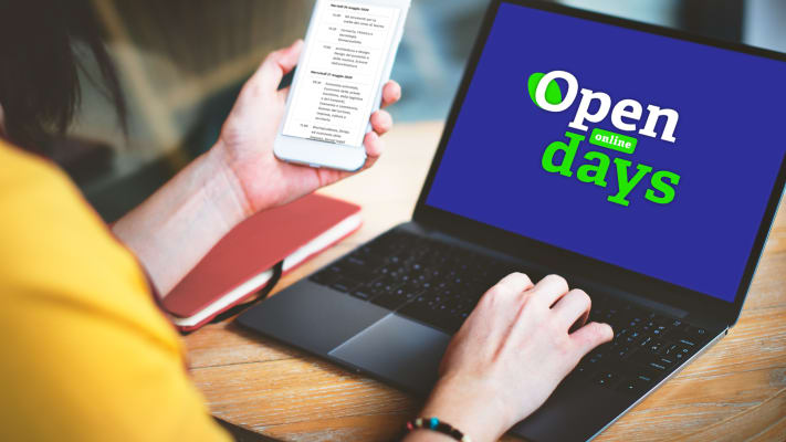 open days homepage online