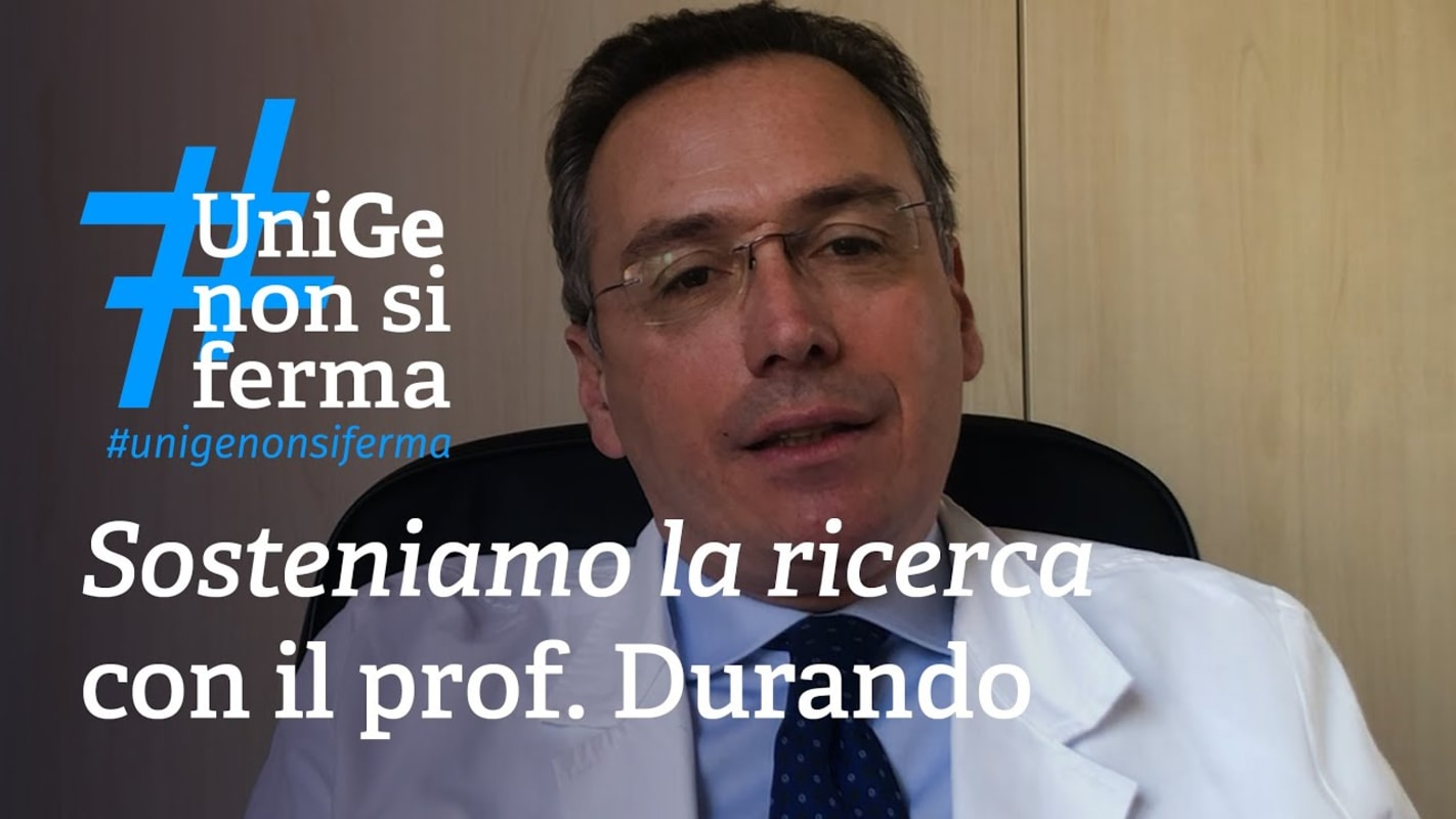 Support the research - Prof. Durando