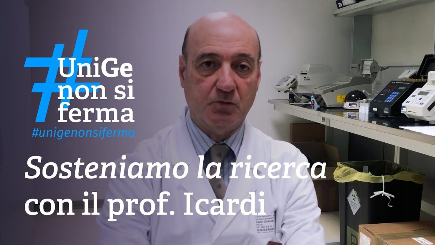 Support the research - Prof. Icardi