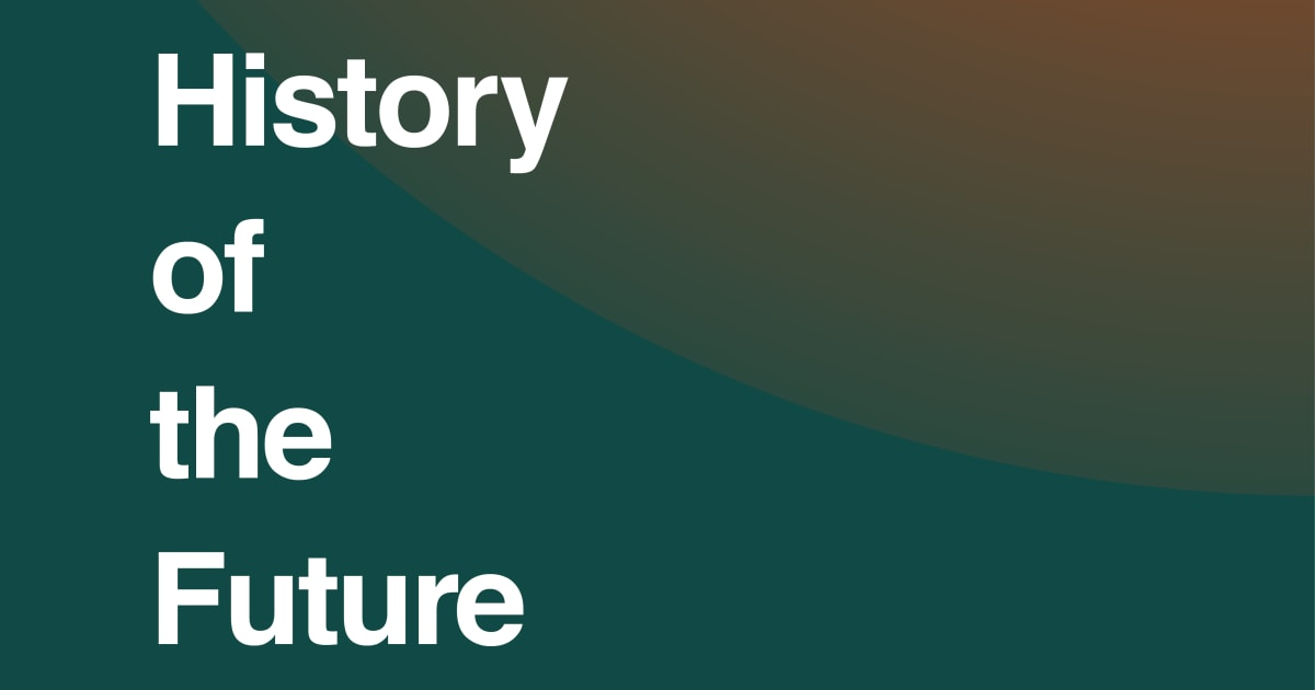 History of the future 2020 news