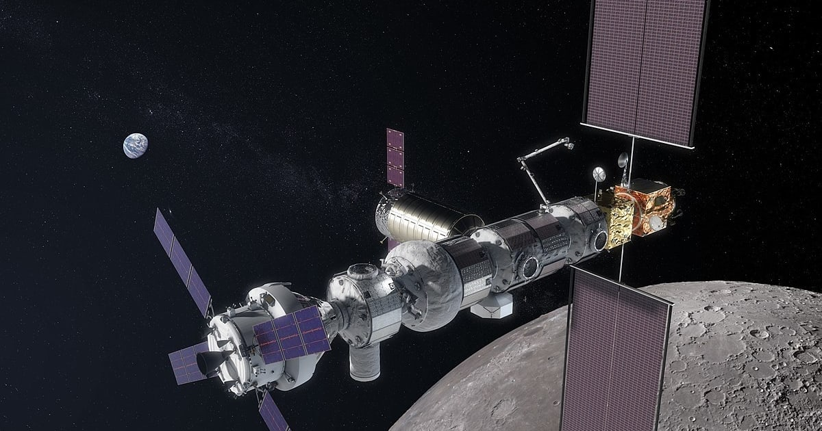 Moon station Lunar Gateway