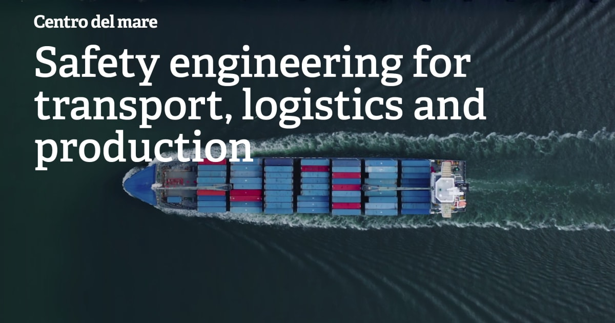 Safety engineering for transport, logistics and production