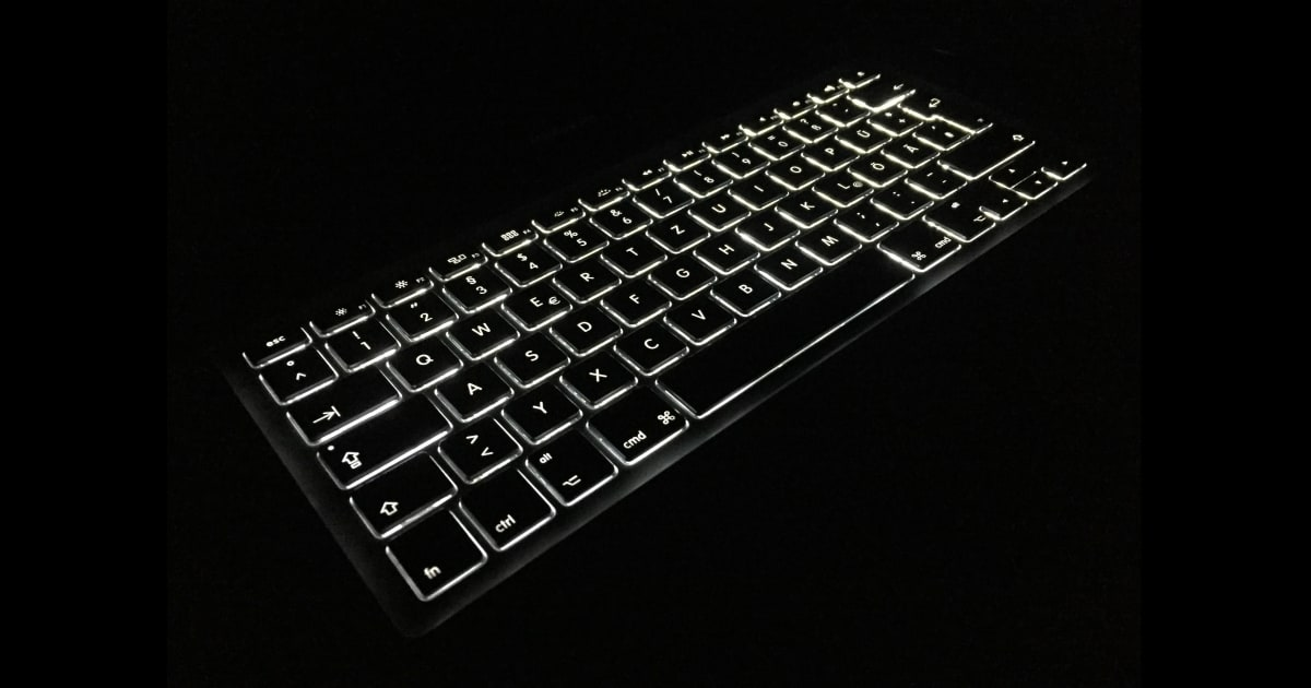 Tastiera retroilluminata - Backlit keyboard